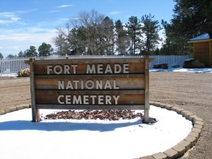 Ft.  Meade Cemetary Sign